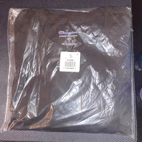 Black Champion T shirt XXL